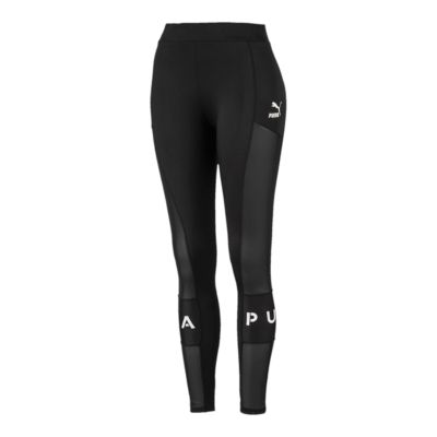 Puma Women/'s Amplified Leggings 854384-01 Black//White