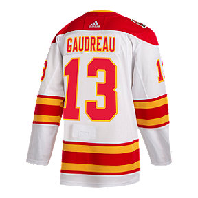 Calgary Flames adidas Johnny Gaudreau Heritage Classic Authentic Jersey