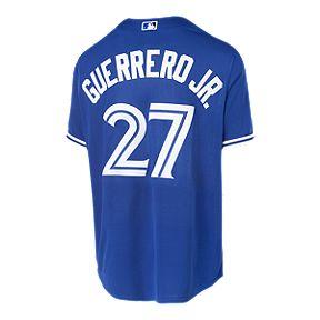 9a697b901ff Toronto Blue Jays Men s Majestic Vladimir Guerrero Jr. Replica Cool Base  Jersey