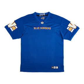 Winnipeg Blue Bombers Men's New Era Replica Home Jersey