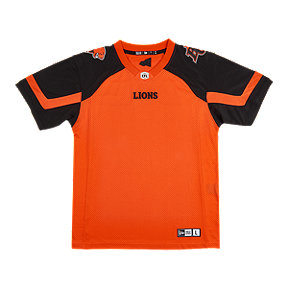 BC Lions Men's New Era Replica Home Jersey