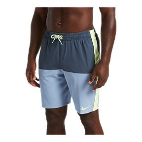 33c79b638337c Nike Men's Split 9 Inch Volley Shorts - Monsoon Blue