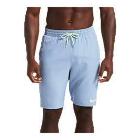 79238261ab Nike Men's 6:1 Linen Racer 9 Inch Volley Shorts - Indigo