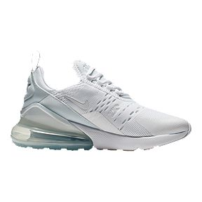 Nike Air Max 1 Ultra Flyknit White Grey Gold Trainers Clearance