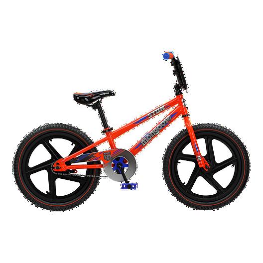 6bea488c2675 Mongoose Stun 18 Kid's Bike 2019 - Orange   Sport Chek