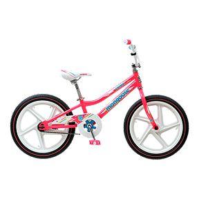 717723fc596 Mongoose Lotus 18 Kid's Bike 2019 - Pink
