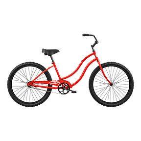 Tuesday May 1 Low-Step 26 Women's Cruiser Bike 2019 - Poppy Red