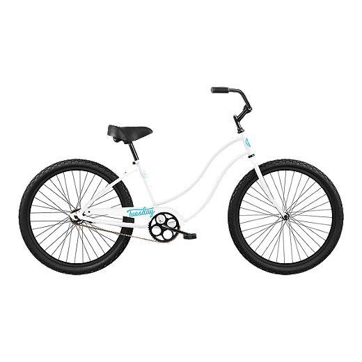 Tuesday May 1 Low Step 24 Junior Girl S Cruiser Bike 2019 White Sport Chek