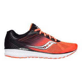 691d4d4975f33 Saucony Men's Everun Breakthru 4 Running Shoes - Red/Black