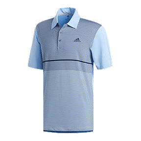 adidas Men's ULT Colour Block Merch Style Polo - Blue