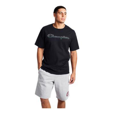 Champion Mens Graphic Jersey Short Shorts