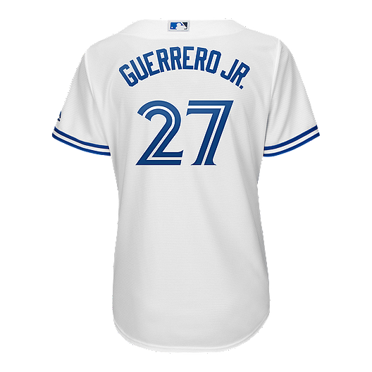 the best attitude a213f 10001 Toronto Blue Jays Women's Majestic Vladimir Guerrero Jr Blue Jersey