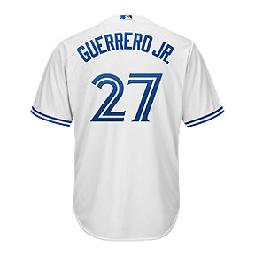 Toronto Blue Jays Majestic Vladimir Guerrero Jr Cool Base Replica Home Jersey