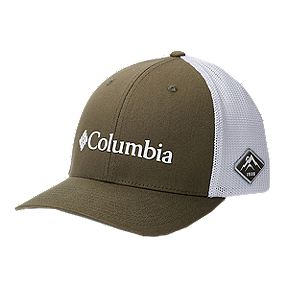 02bd2db24e0 Columbia Men's Mesh Flexfit Hat - Olive