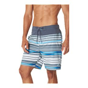 5419d7a879 Speedo Men's Twotone Stripe 19 Inch E-boardshorts - Steel