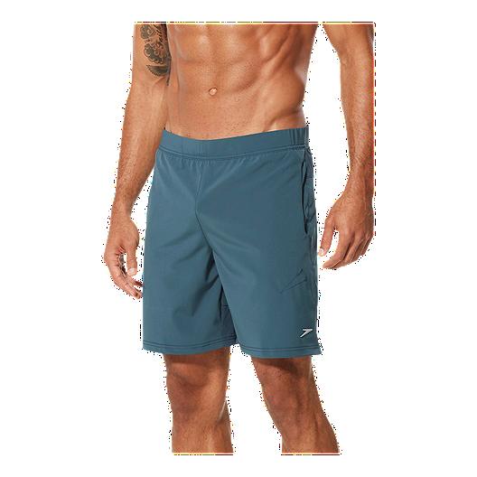 42c19129d98a5 Speedo Men's Active Alex Freeman 18 Inch Volley Shorts - Blue | Sport Chek