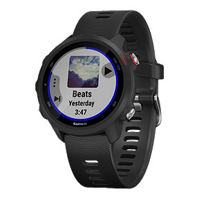 Garmin Forerunner 245 GPS Music Running Watch - Black