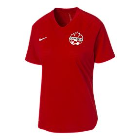 best website 7075b 1be62 Canada Soccer Women s Nike Authentic Home Jersey