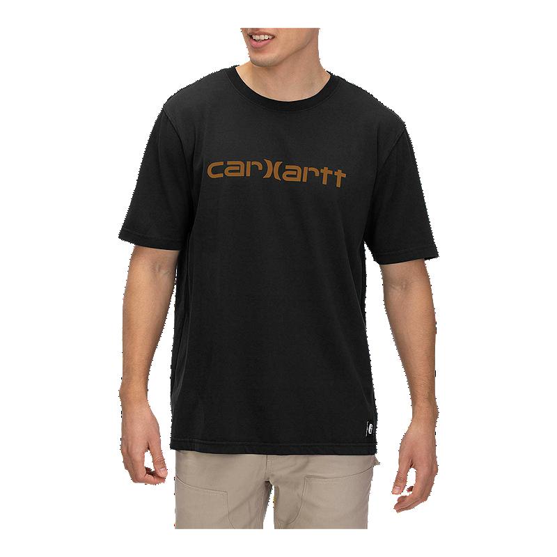 Men/'s Hurley Carhartt Pocket T-Shirt Collab Black Medium M Heavy Weight Cotton