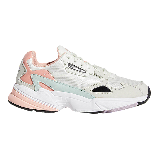 adidas Women's Falcon Shoes - White Tint/Raw White/Trace Pink