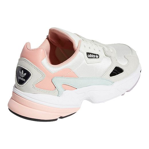 hazlo plano Residuos calor  adidas Women's Falcon Shoes - White Tint/Raw White/Trace Pink   Sport Chek