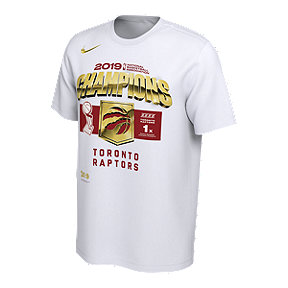 f3fff6e8c49fc Toronto Raptors Men's Nike 2019 Locker Room Champs Tee