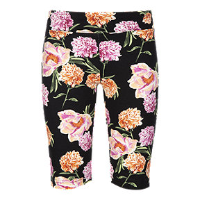 Ripzone Girls' Blair All Over Print Roses Bermuda Shorts