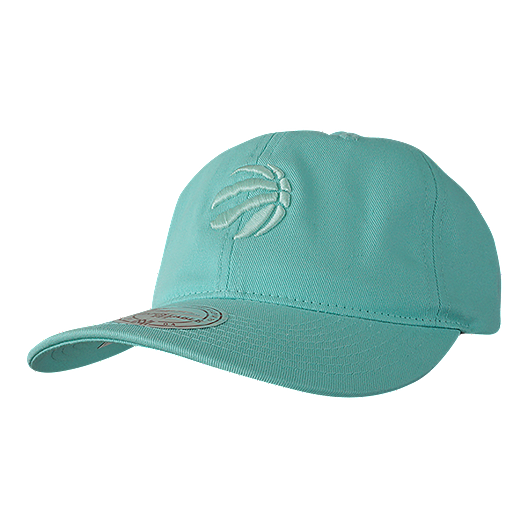 best website e4dfd 7ba34 Toronto Raptors Mitchell and Ness Pastel Aqua Adjustable Dad Cap. (0). View  Description