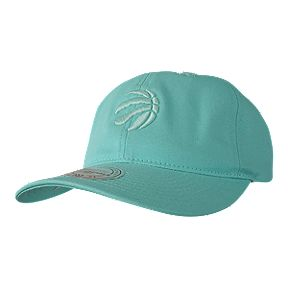 huge discount 2aebf ab96b Toronto Raptors Mitchell and Ness Pastel Aqua Adjustable Dad Cap