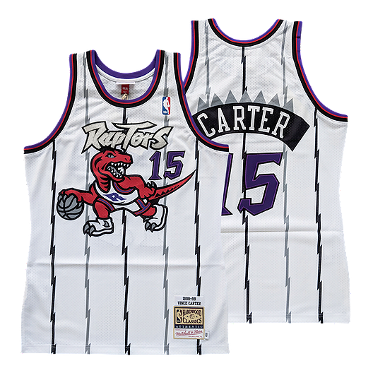 d3580380 Toronto Raptors Mitchell and Ness Authentic Carter White Jersey | Sport Chek
