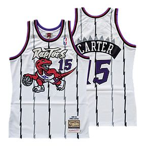 e0c00ee8366 Toronto Raptors Mitchell and Ness Authentic Carter White Jersey