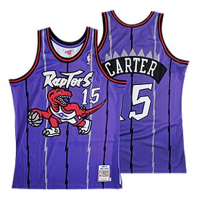 9812b217f80a Toronto Raptors Mitchell and Ness Authentic Carter Purple Jersey
