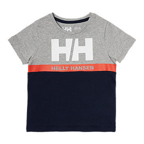 Helly Hansen Toddler Active Short Sleeve Tee - Navy