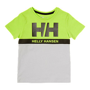Helly Hansen Toddler Active Short Sleeve Tee - Grey