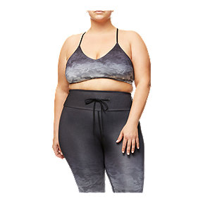 Good American Women's Barely There Scoop Bralette - Ombre Camo