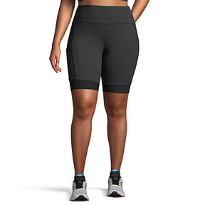 Diadora Women's 9 Inch Spin Plus Size Shorts