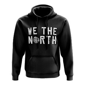 Toronto Raptors Men's Mitchell and Ness We The North Balled Hoodie