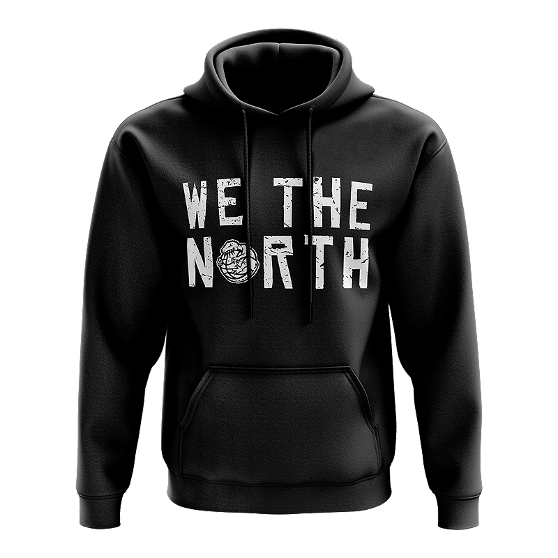 separation shoes c259d bca1a Toronto Raptors Men's Mitchell and Ness We The North Balled Hoodie