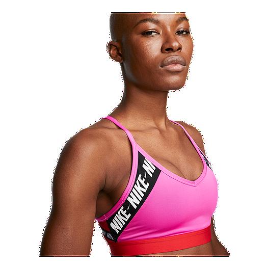 Nike Women S Indy Logo Light Padded Bra Sport Chek