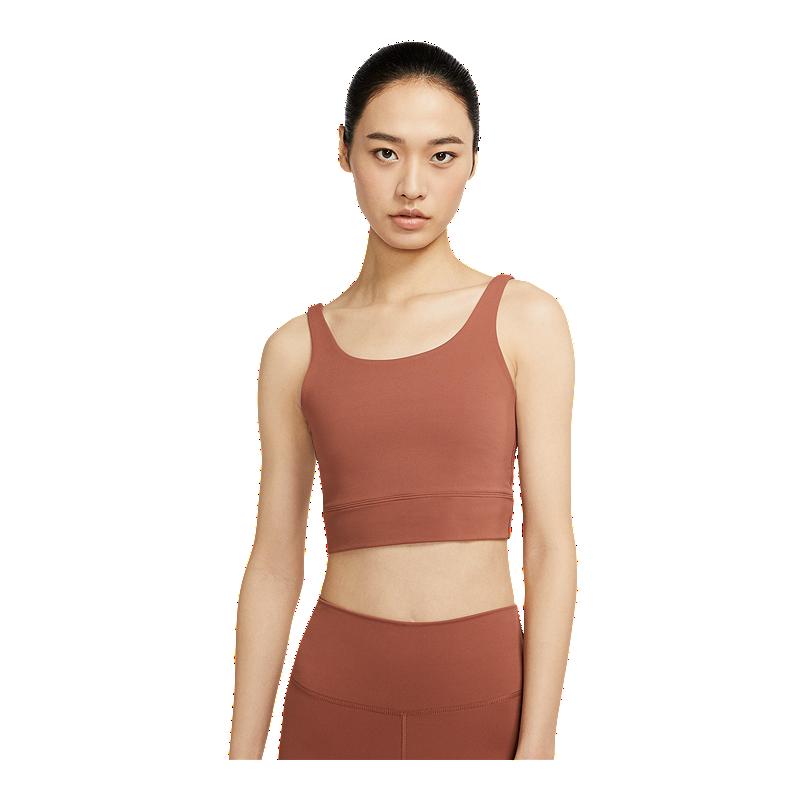 Nike Women S Yoga Luxe Henley Tank Sport Chek