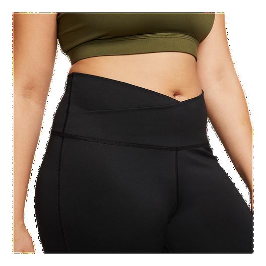 Nike Women S Plus Size Yoga Wrap 7 8 Tights Sport Chek