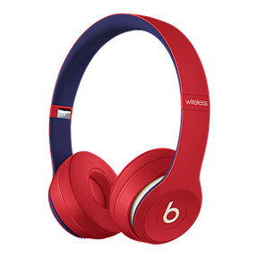 Beats Solo3 Wireless On-Ear Headphones - Club Collection: Red