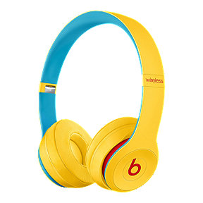 Beats Solo3 Wireless On-Ear Headphones - Club Collection: Yellow