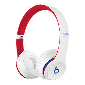 Beats Solo3 Wireless On-Ear Headphones - Club Collection: White