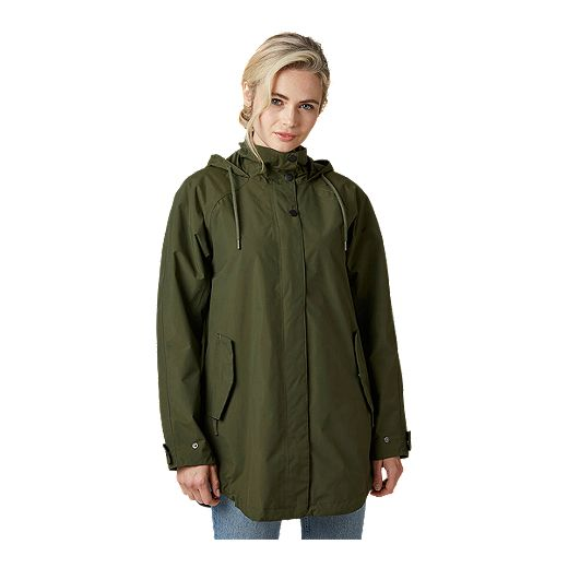 Helly Hansen Women's Valentia Long Rain Coat
