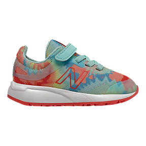 New Balance Toddler Girls' 455V2 Tie-Dye AC Shoes