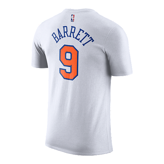 best website 0d68d 1231f New York Knicks Nike Men's Dri-FIT RJ Barrett Player Tee