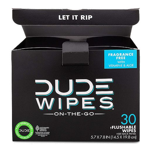 Dude Wipes On The Go Travel 15Pk