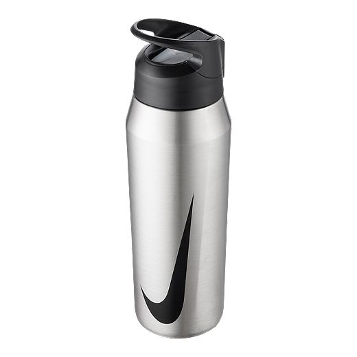 Nike 32 Oz Stainless Steel Hypercharge Straw Water Bottle Brushed Sport Chek