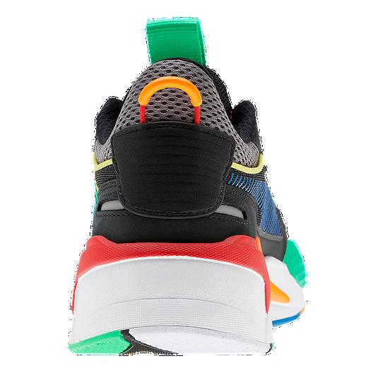 PUMA Men's RS X Bold Shoes BlackOrange Popsicle